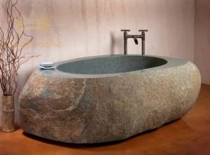 Bồn tắm đá Basalt tự nhiên
